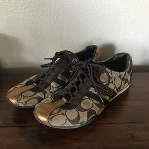 Metallic Katelyn Sneakers {Coach}